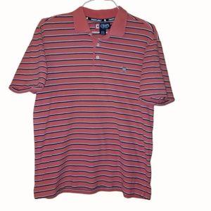 Chaps Orange Short Sleeve Golf Polo
